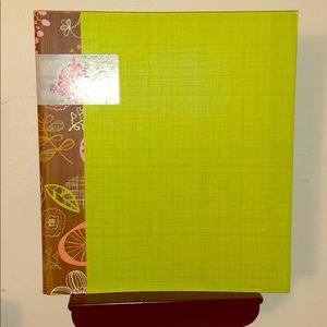 Other - Beautiful Green Binder